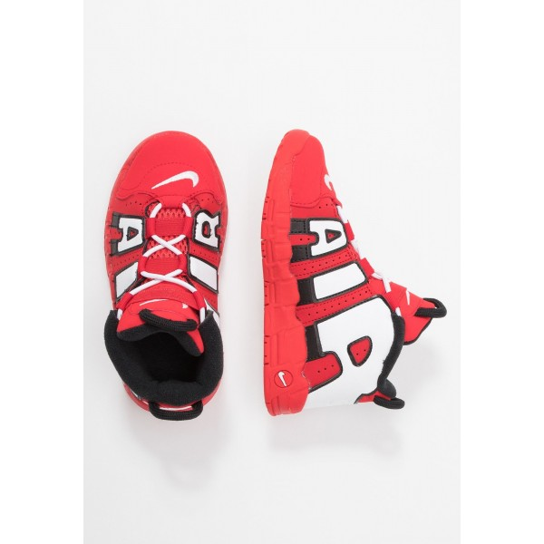 Nike AIR MORE UPTEMPO QS - Sneakers hoog red/whiteNIKE303453