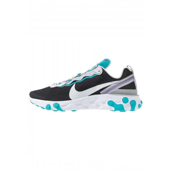 Nike REACT 55 - Sneakers laag black/pure platinum/wolf grey/teal/voltage purple/whiteNIKE202300