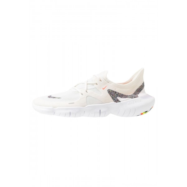 Nike FREE RN 5.0 - Loopschoen neutraal white/summit white/lava glowNIKE101803