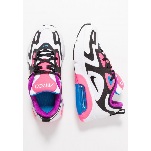 Nike AIR MAX 200 - Sneakers laag white/black/hyper pink/photo blueNIKE303258