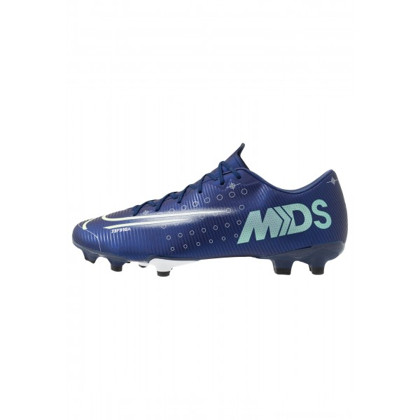 Nike MERCURIAL VAPOR 13 ACADEMY FG/MG - Voetbalschoenen met kunststof noppen blue void/metallic silver/white/blackNIKE202818