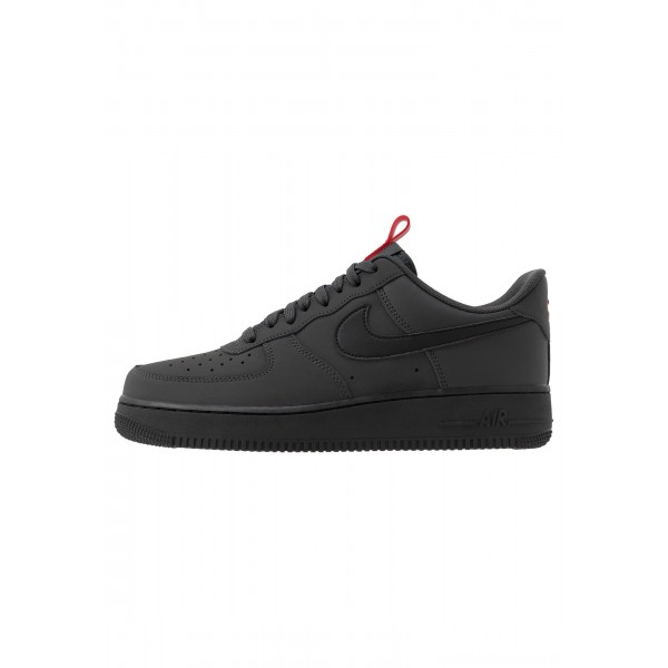 Nike AIR FORCE 1 - Sneakers laag anthracite/black/universe redNIKE202524