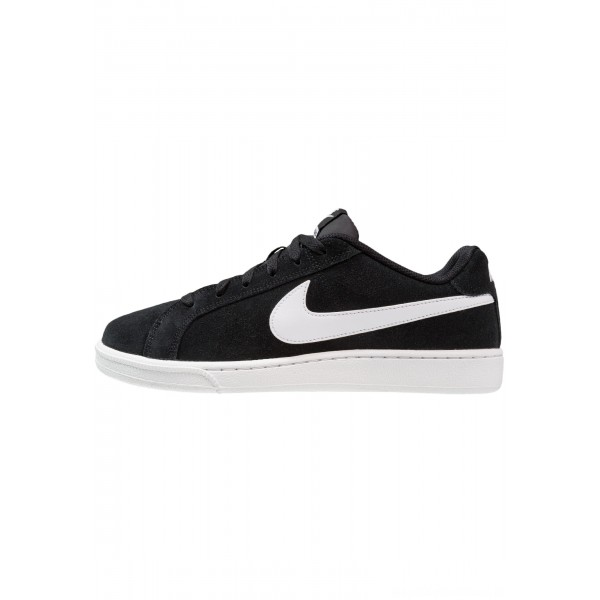 Nike COURT ROYALE SUEDE - Sneakers laag black/whiteNIKE101567