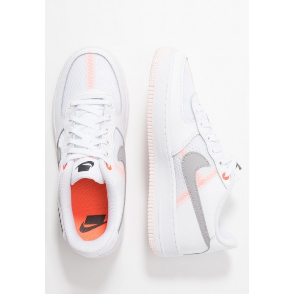 Nike AIR FORCE 1 LV8 - Sneakers laag white/atmosphere grey/off noir/hyper crimson/light soft pinkNIKE303496