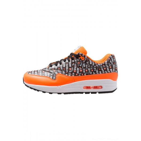 Nike AIR MAX 1 PREMIUM - Sneakers laag black/total orange/whiteNIKE202602