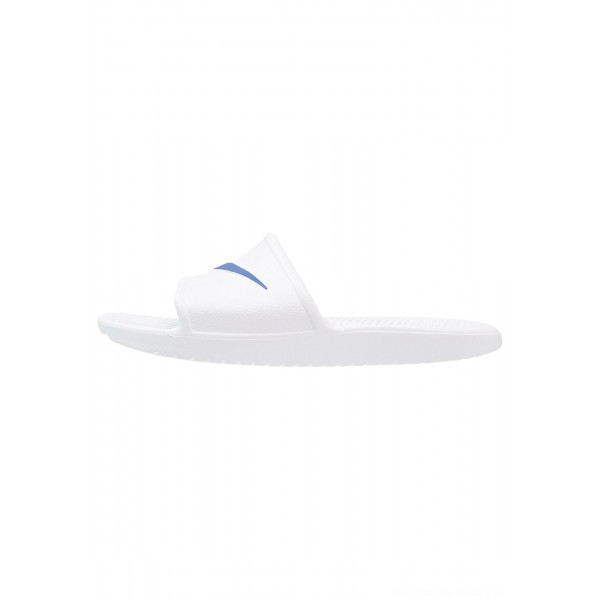 Nike KAWA SHOWER - Badslippers white/blue moonNIKE202694