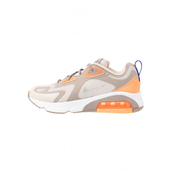 Nike AIR MAX 200 - Sneakers laag sepia stone/reflect silver/desert sand/total orange/white/racer blueNIKE202384