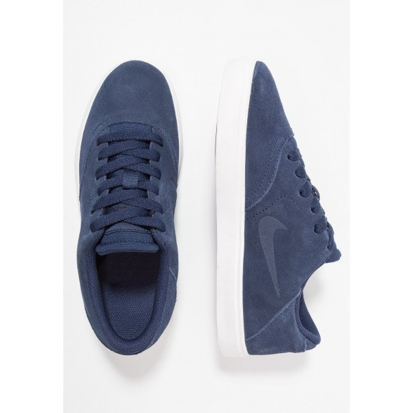 Nike SB CHECK - Sneakers laag midnight navy/black/summit whiteNIKE303208
