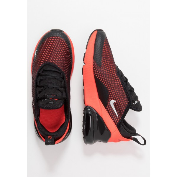Nike AIR MAX 270 - Sneakers laag black/reflect silver/bright crimsonNIKE202273