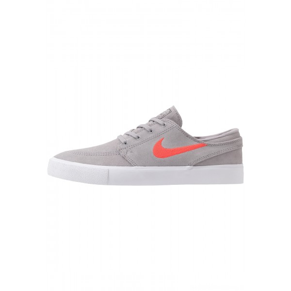 Nike SB ZOOM JANOSKI - Sneakers laag atmosphere grey/bright crimson/white/gum light brownNIKE202290