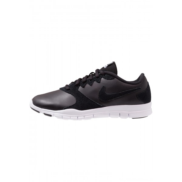Nike FLEX ESSENTIAL TR - Sportschoenen black/white/light crimsonNIKE101673