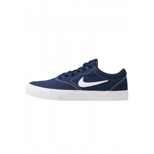 Nike SB CHARGE  - Sneakers laag midnight navy/white/light brownNIKE202303