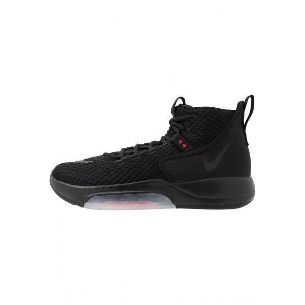 Nike ZOOM RIZE - Basketbalschoenen blackNIKE202864