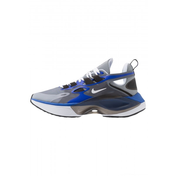 Nike SIGNAL D/MS/X - Sneakers laag particle grey/white/racer blue/blackNIKE101433