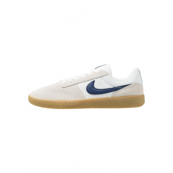 Nike SB TEAM CLASSIC - Skateschoenen summit white/blue void/white/light brownNIKE202540