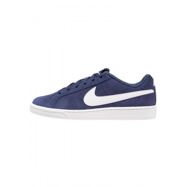 Nike COURT ROYALE SUEDE - Sneakers laag midnight navy/whiteNIKE202616