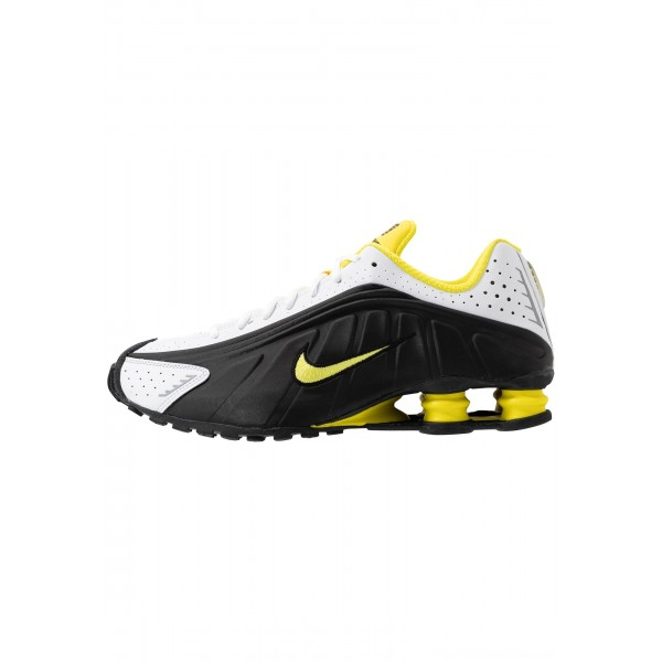 Nike SHOX R4 - Sneakers laag black/dynamic yellow/whiteNIKE202453